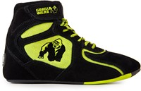 "Gorilla Wear Chicago High Tops - Black/ Neon Lime ""Limited"""