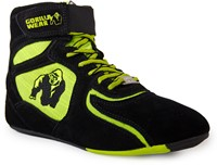 "Gorilla Wear Chicago High Tops - Black/ Neon Lime Limited""""""""-2"