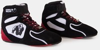 "Gorilla Wear Chicago High Tops - Black/White/Red ""Limited"" -3"