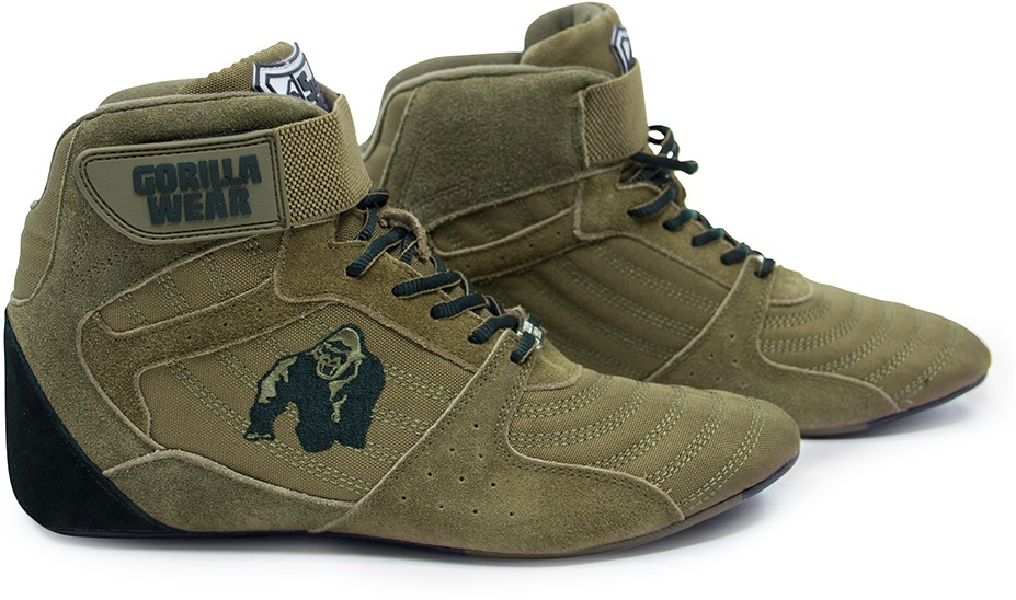 058cceda7f5 Gorilla Wear Perry High Tops Pro - Army Green - Maat 36 ...