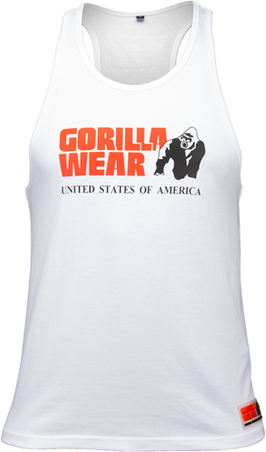 Gorilla Wear Classic Tank Top - Wit
