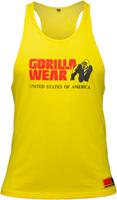 Gorilla Wear Classic Tank Top - Geel