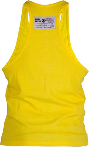 Gorilla Wear Classic Tank Top Yellow-2