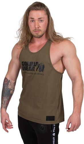Gorilla Wear Classic Tank Top - Army Green