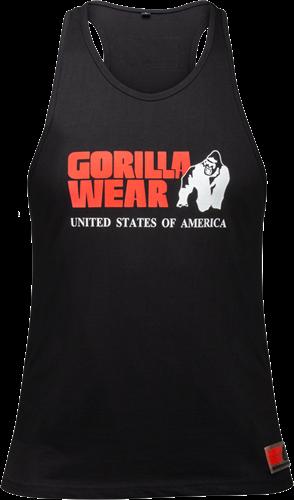 Gorilla Wear Classic Tank Top - Zwart