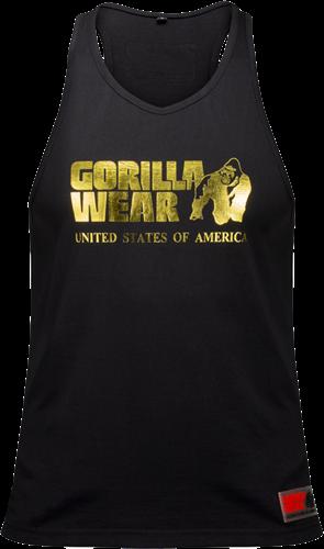 Gorilla Wear Classic Tank Top - Zwart/Goud