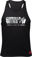 Gorilla Wear Classic Tank Top - Zwart/Zilver