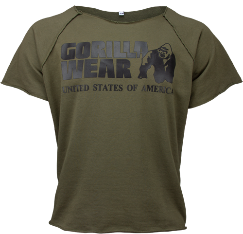Gorilla Wear Classic Work Out Top - Legergroen