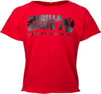 Gorilla Wear Classic Work Out Top - Rood