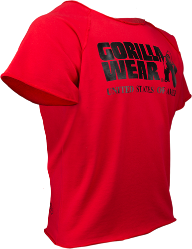 Gorilla Wear Classic Work Out Top - Rood-3