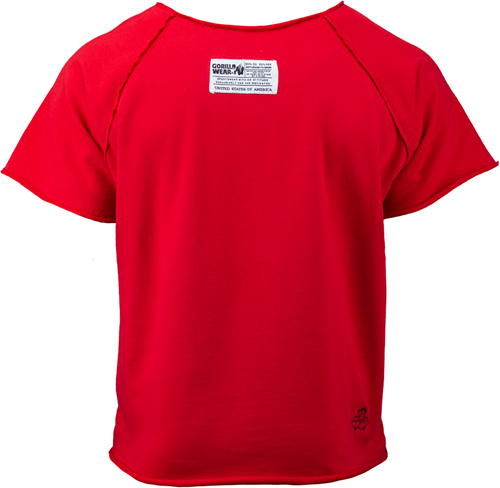 Gorilla Wear Classic Work Out Top - Rood-2
