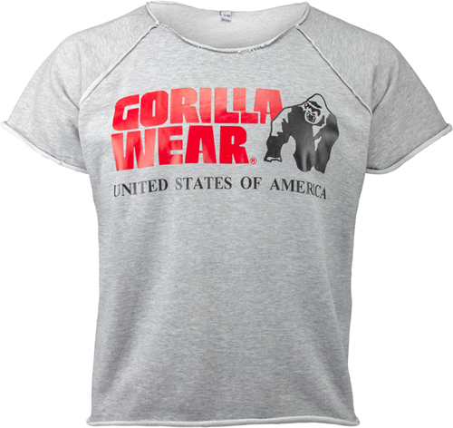 Gorilla Wear Classic Work Out Top - Grijs