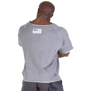 Gorilla Wear Classic Work Out Top Grey