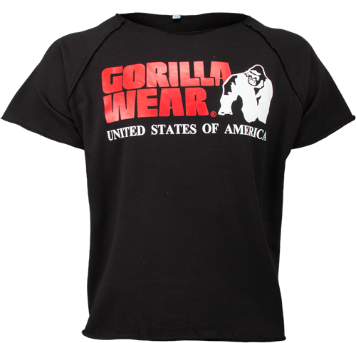 Gorilla Wear Classic Work Out Top - Zwart