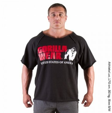 Gorilla Wear Classic Work Out Top Black