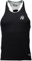Gorilla Wear Sacramento Camo Mesh Tank Top - Black/White