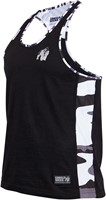 Gorilla Wear Sacramento Camo Mesh Tank Top - Black/White-3