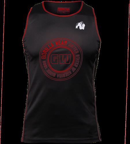 Gorilla Wear Kenwood Tank Top - Black/Red