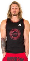Gorilla Wear Kenwood Tank Top - Black/Red-2