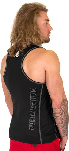 Gorilla Wear Kenwood Tank Top - Black/Silver-2