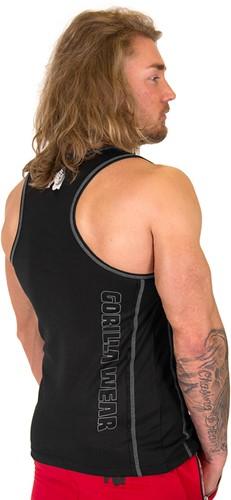 Gorilla Wear Kenwood Tank Top - Black/Silver
