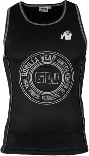 Gorilla Wear Kenwood Tank Top - Black/Silver-3