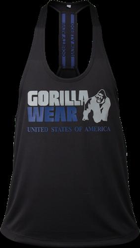 Gorilla Wear Nashville Tank Top - Zwart/Marineblauw