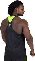 Gorilla Wear Lexington Tank Top - Black/Neon Lime-3