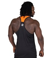 Gorilla Wear Lexington Tank Top - Black/Neon Orange-3
