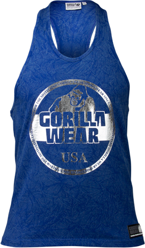 Gorilla Wear Mill Valley Tank Top - Royal Blauw