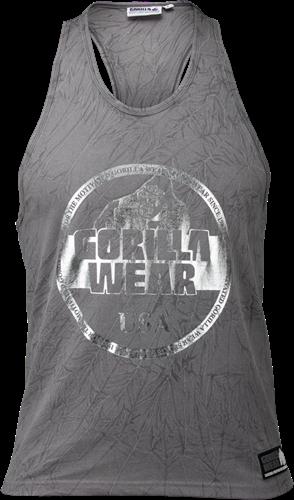 Gorilla Wear Mill Valley Tank Top - Grijs
