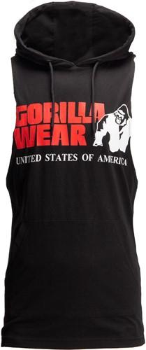 Gorilla Wear Rogers Hooded Tank Top - Zwart