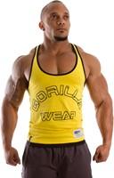 Gorilla Wear Stringer Tank Top - Geel