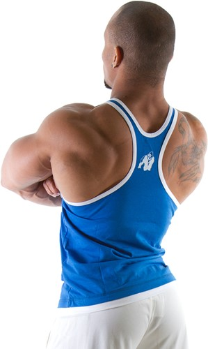 Gorilla Wear Stringer Tank Top Royal Blue-2