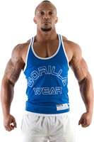 Gorilla Wear Stringer Tank Top - Blauw