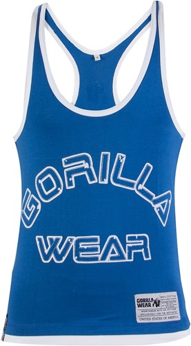 Gorilla Wear Stringer Tank Top - Blauw -3