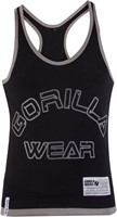 Gorilla Wear Stringer Tank Top - Zwart-2