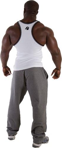 Gorilla Wear Stamina Rib Tank Top - Wit-2