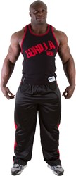 Gorilla Wear Stamina Rib Tank Top Black/Red