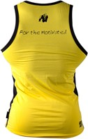 Gorilla Wear Stretch Tank Top Yellow