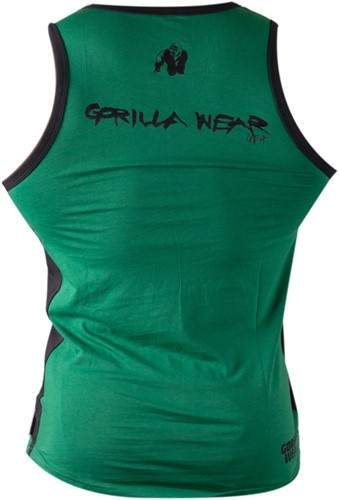 Gorilla Wear Stretch Tank Top Green-2