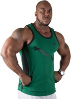 Gorilla Wear Stretch Tank Top Green