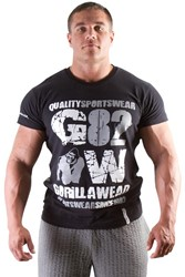 Gorilla Wear 82 Tee - black