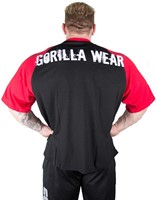 Gorilla Wear Colorado Oversized T-Shirt Black/Red