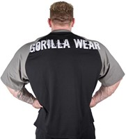 Gorilla Wear Colorado Oversized T-shirt Black/Grey-2