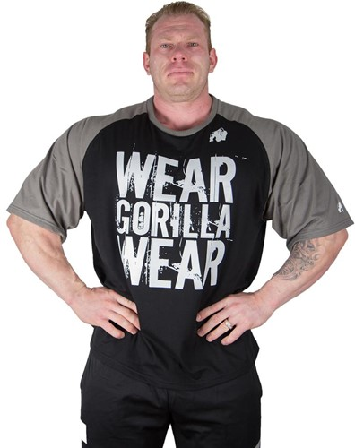 Gorilla Wear Colorado Oversized T-shirt Black/Grey-3