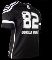 Gorilla Wear GW Athlete T-Shirt Black/White-3
