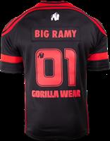 Gorilla Wear GW Athlete T-Shirt Big Ramy Black/Red-2