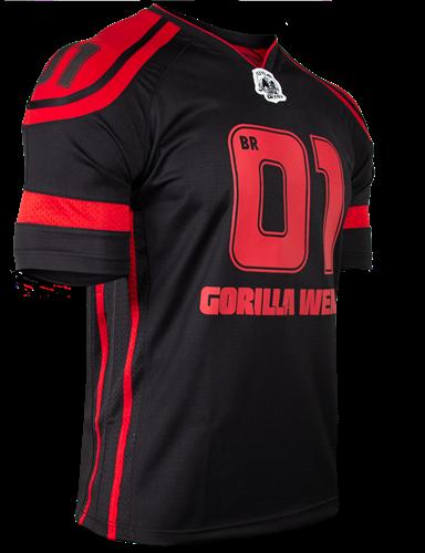 Gorilla Wear GW Athlete T-Shirt Big Ramy Black/Red-3