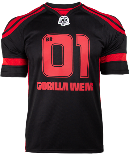 Gorilla Wear GW Athlete T-Shirt Big Ramy Black/Red